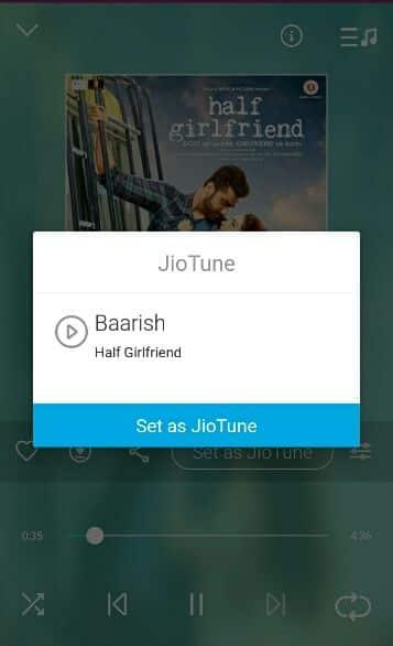 Jio Caller Tune Setup