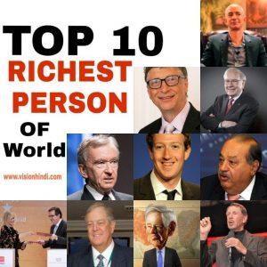 10 Richest Man of World