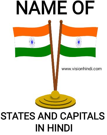 भारत के राज्य और उनकी राजधानियाँ 2020