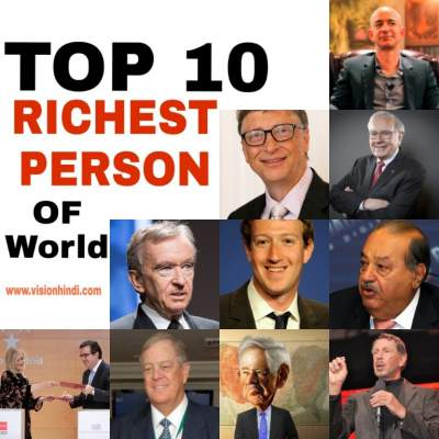 List of Richest Man In The World