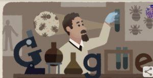 रुडोल्फ़ वाइगल का 138 वां जन्मदिन पर बना गूगल डूडल