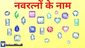9 All Navratna Stones Names In Hindi नवरत्नों के नाम